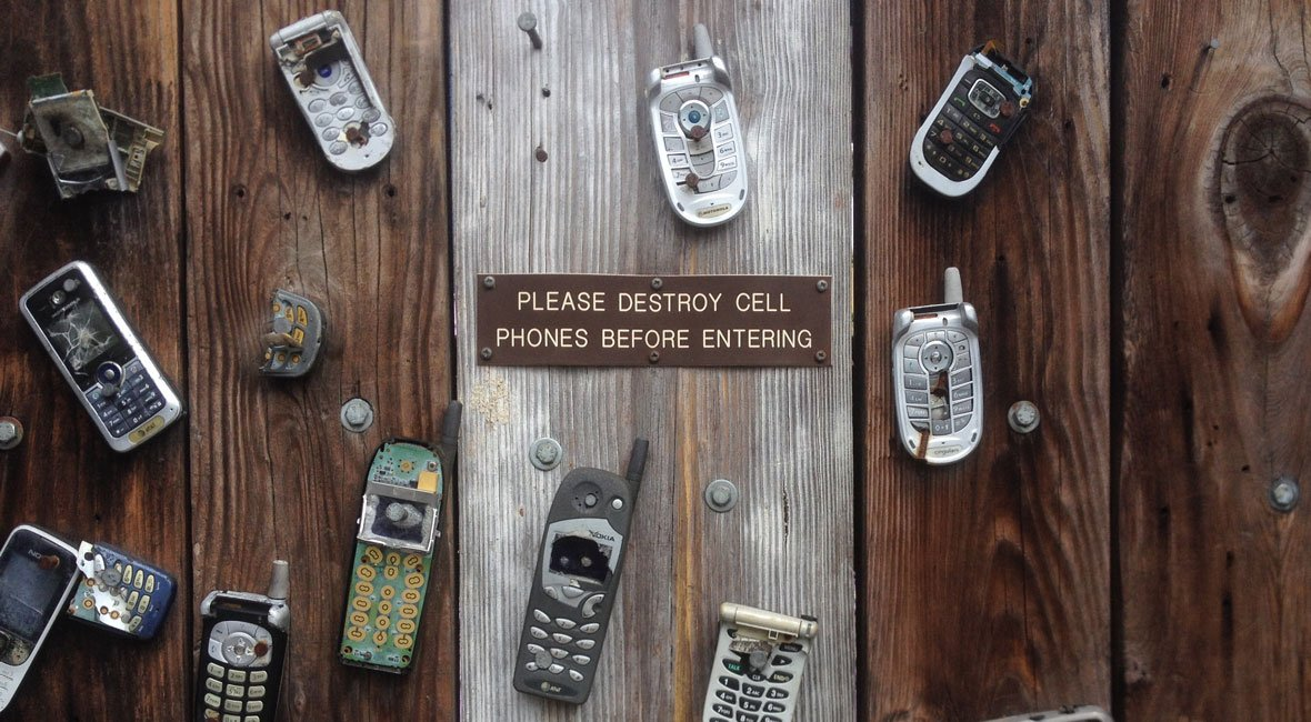 Throw away your cell phone